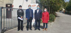 青浦区政府领导莅临上海沪鸽慰问指导
